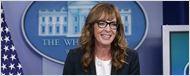 Allison Janney faz aparição surpresa na Casa Branca como a personagem C.J. Gregg de The West Wing