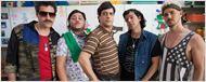 Veja a primeira imagem da boy band formada por Bruno Mazzeo, Lúcio Mauro Filho, Bruno Garcia e Marcus Majella na comédia Chocante