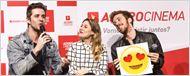 Amor.com: Os melhores momentos da visita do elenco ao AdoroCinema em fotos!