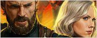 Artes promocionais de Vingadores: Guerra Infinita apresentam os novos visuais da Viúva Negra e do Capitão América