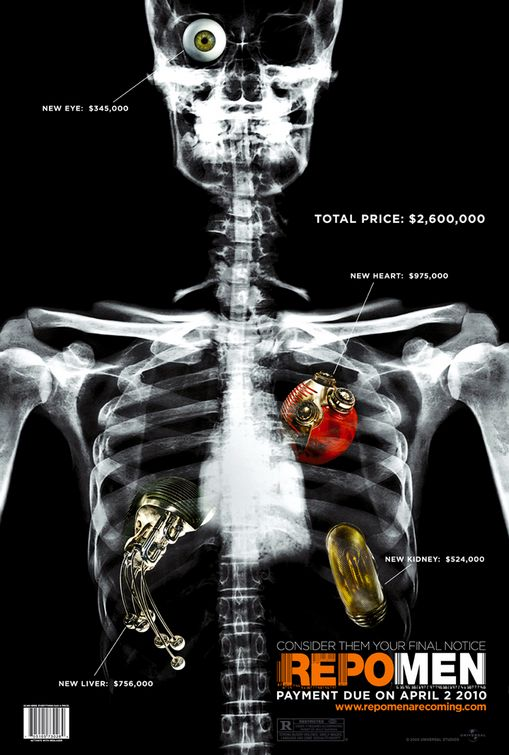 Repo Men - O Resgate de Órgãos - Nossas impressões