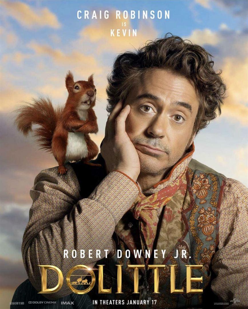 Dolittle   Novos cartazes individuais com Robert Downey Jr. e elenco de peso