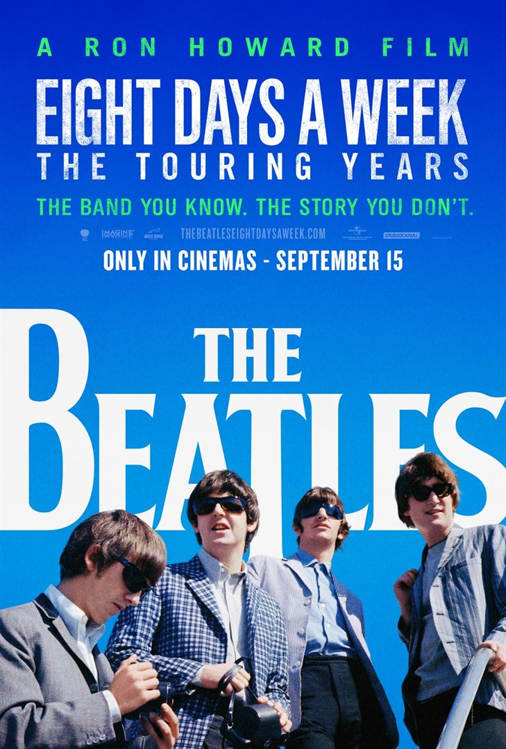"""Eight Days A Week: The Touring Years"" será lançado em cinemas brasileiros"