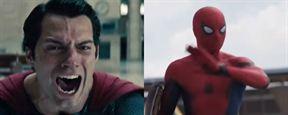 Homem-Aranha teve mais falas em Capitão América: Guerra Civil que Clark Kent em Batman vs Superman - A Origem da Justiça?