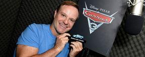 Rubens Barrichello dublará piloto veterano em Carros 3