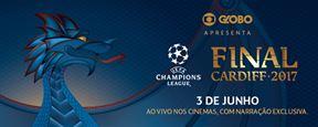 Cinemas brasileiros exibirão a final da Liga dos Campeões