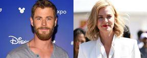 Para Chris Hemsworth, Charlize Theron deve ser a próxima James Bond