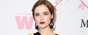 Zoey Deutch vai atuar ao lado de Johnny Depp em Richard Says Goodbye