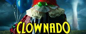 """Clownado: Inspirado em Sharknado, filme sobre """"furacão de palhaços"""" ganha trailer"""