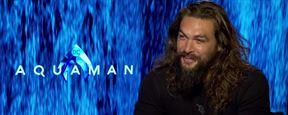 Aquaman: Jason Momoa comenta a sensação de usar o traje clássico pela primeira vez (Entrevista exclusiva)