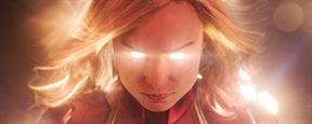 Capitã Marvel: Personagens estampam novos cartazes individuais