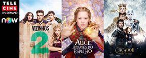 Telecine On Demand: Confira agora Vizinhos 2, Alice Através do Espelho, As Tartarugas Ninja - Fora das Sombras e outros filmes