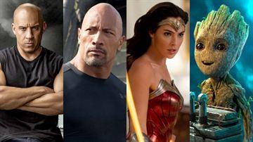 Velozes & Furiosos: The Rock e outros atores da saga que fazem super-heróis em filmes da Marvel, DC e Netflix