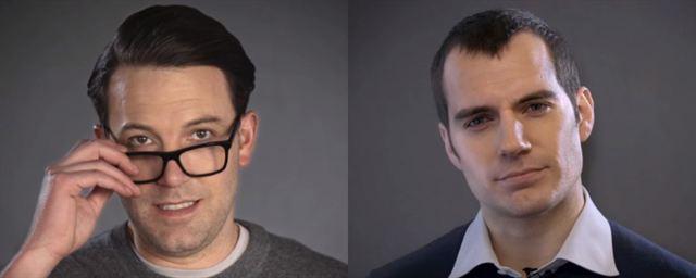Ben Affleck e Henry Cavill se alfinetam em vídeo promocional de Batman Vs  Superman 0dd48fdf0ca