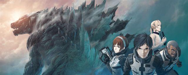 Godzilla de anime futurista da Netflix será muito maior que