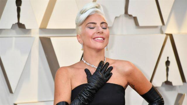 469fbb55872 Oscar 2019  Lady Gaga leva o Oscar de Melhor Canção por Shallow ...