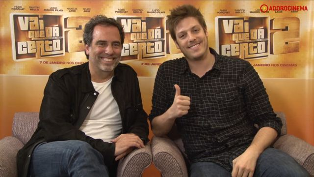Vai que Dá Certo 2 Entrevista (3) Fábio Porchat e Maurício Farias