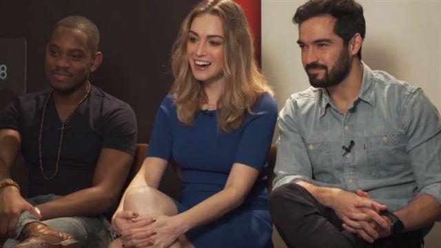 Sense8 - Entrevista com Jamie Clayton, Aml Ameen e Alfonso Herrera Legendada