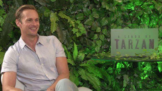 A Lenda de Tarzan: Entrevista exclusiva com Alexander Skarsgård