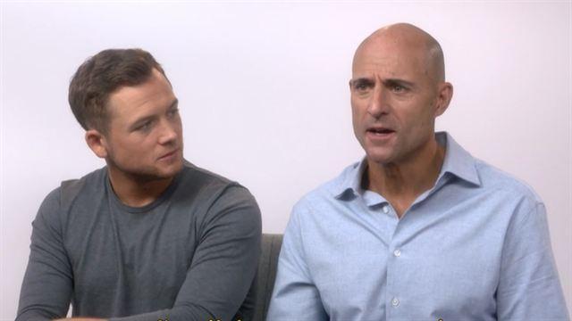 Kingsman: O Círculo Dourado Entrevista com Taron Egerton e Mark Strong