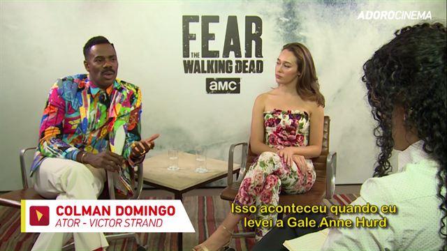 Fear the Walking Dead entrevista com Alycia Debnam-Carey e Colman Domingo parte 2