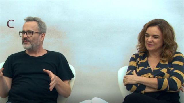 Entrevista com diretor, autor do livro e elenco de Kardec