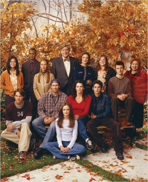 Gilmore Girls : Foto Alexis Bledel, Edward Herrmann, Jared Padalecki, Keiko Agena, Kelly Bishop