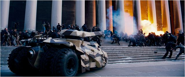 Batman - O Cavaleiro das Trevas Ressurge : foto Christopher Nolan