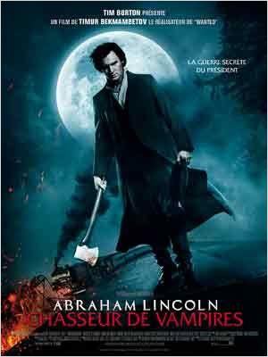Abraham Lincoln: Caçador de Vampiros : poster