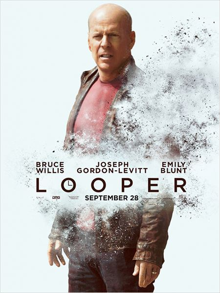 Looper - Assassinos do Futuro : poster Bruce Willis