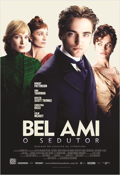 Bel Ami - O Sedutor : poster