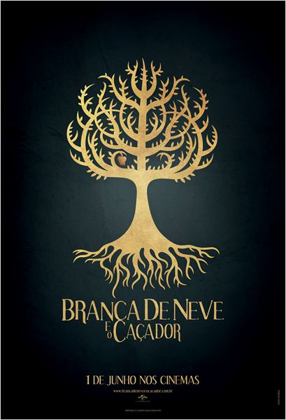 Branca de Neve e o Ca&#231;ador : poster