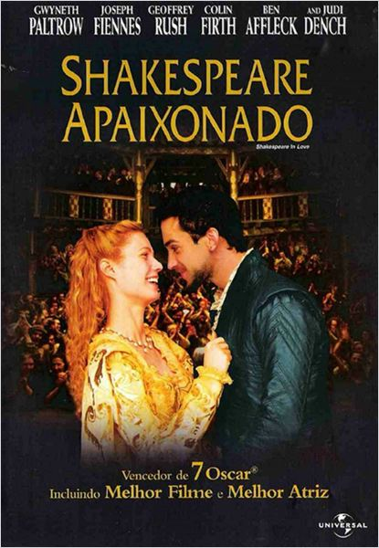 Shakespeare Apaixonado : poster