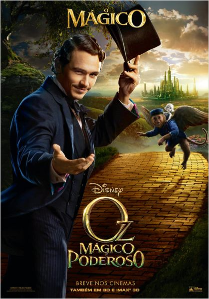 Oz, M&#225;gico e Poderoso : poster