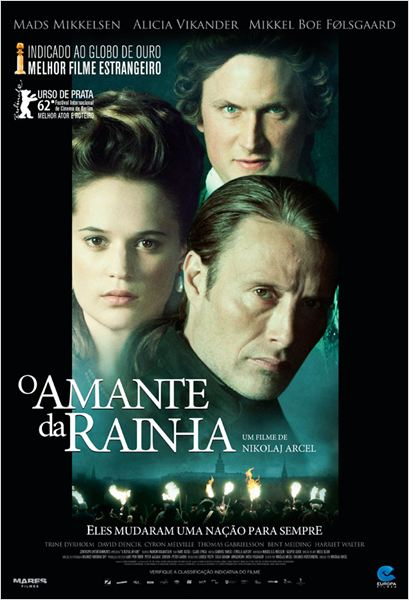 O Amante da Rainha : poster