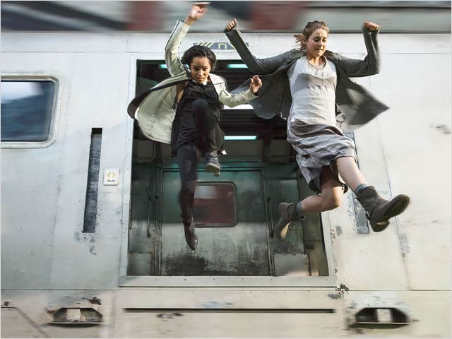 Divergente : Foto Shailene Woodley, Zoë Kravitz