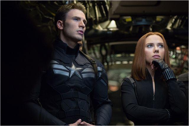 Capitão América 2 - O Soldado Invernal : Foto Chris Evans, Scarlett Johansson