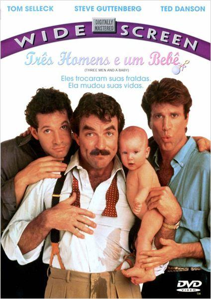 Três Solteirões e um Bebê : Poster