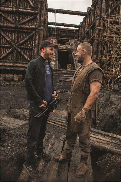 Noé : Foto Darren Aronofsky, Russell Crowe