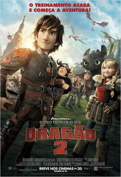 Como Treinar o seu Dragão 2 : Poster
