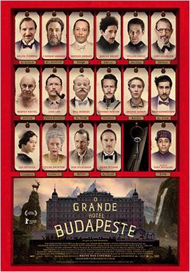 O Grande Hotel Budapeste : Poster
