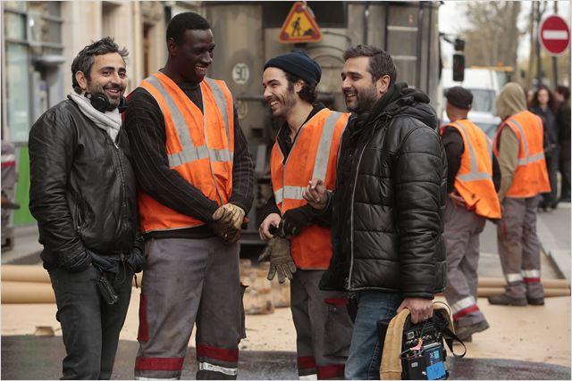 Foto Eric Toledano, Olivier Nakache, Omar Sy, Tahar Rahim