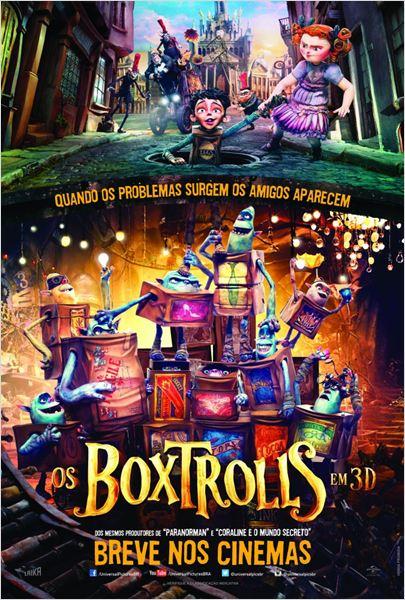 Os Boxtrolls : Poster