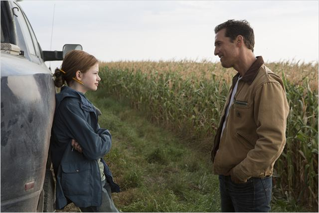 Interestelar : Foto Mackenzie Foy, Matthew McConaughey