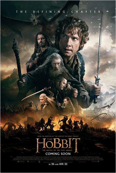 O Hobbit: A Batalha dos Cinco Exércitos : Poster