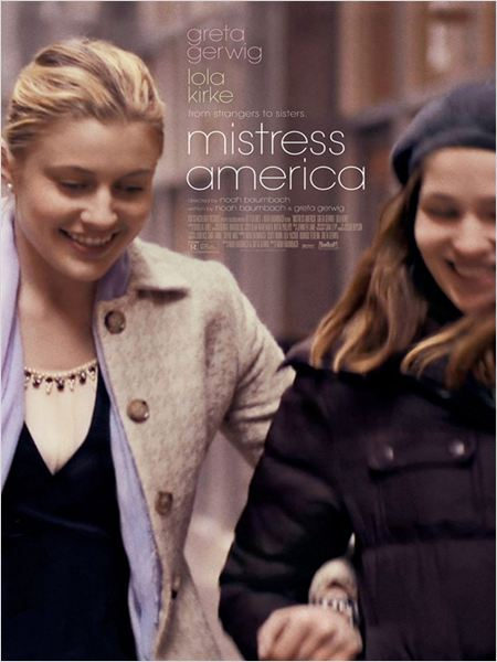 Mistress America : Poster