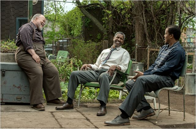 Um Limite Entre Nós : Foto Denzel Washington, Russell Hornsby, Stephen Henderson