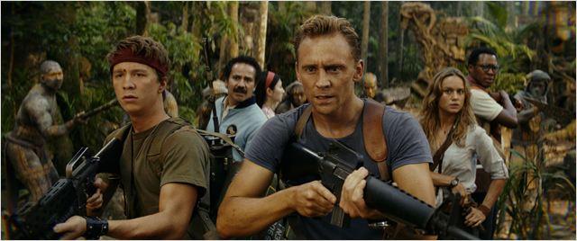 Kong: A Ilha da Caveira : Foto Brie Larson, Corey Hawkins, Jing Tian, Thomas Mann (II), Tom Hiddleston
