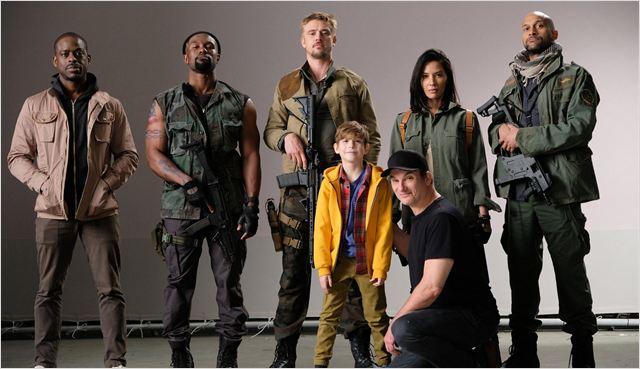 Predador : Foto Boyd Holbrook, Jacob Tremblay, Keegan-Michael Key, Olivia Munn, Shane Black