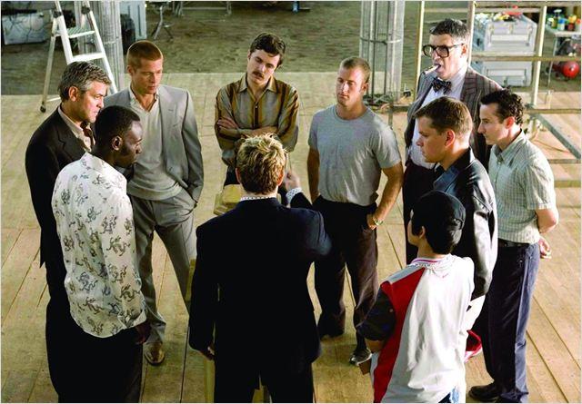 Doze Homens e Outro Segredo : Foto Brad Pitt, Casey Affleck, Don Cheadle, Elliott Gould, George Clooney